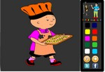 Cook Caillou Painting